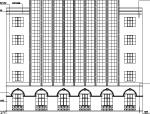 某新华书店现代多层商务办公建筑设计施工图CAD