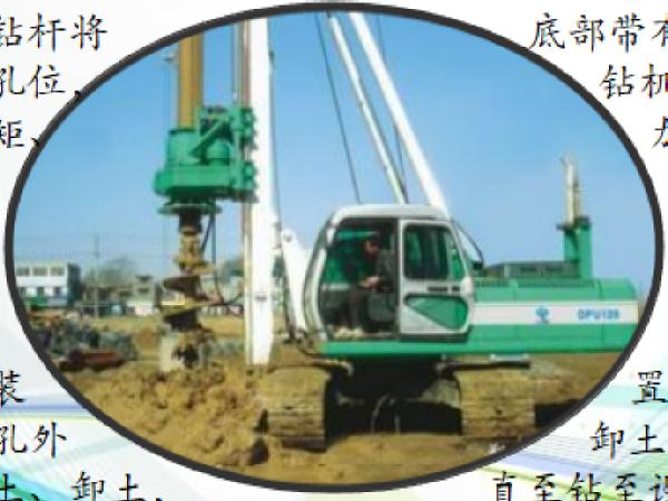 高速公路陆上灌注桩基础施工技术学习材料