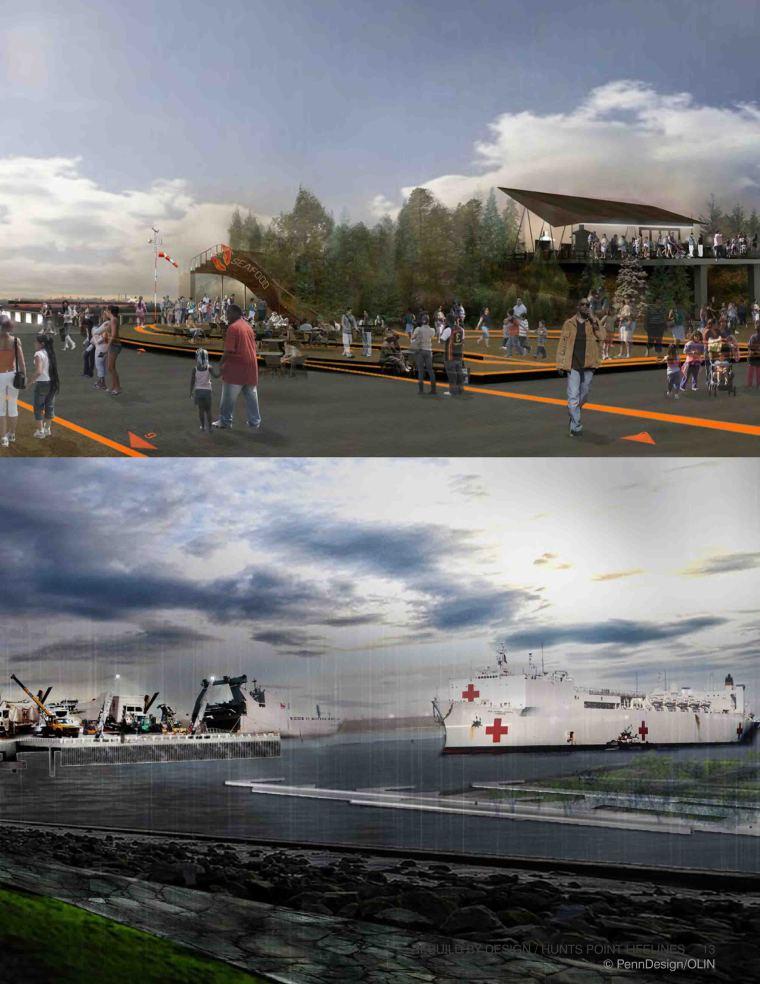 [国外]滨水捕鱼生活区景观规划设计|Penn