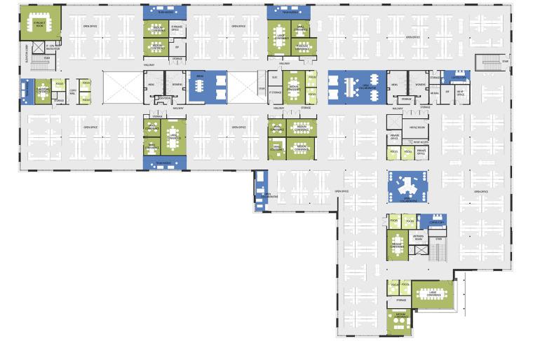 美国Xilinx总部大楼改造-16