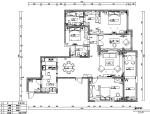 简约美式风样板房设计施工图(附效果图)
