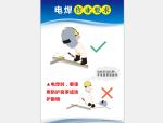 【安全月】电焊作业要求高清挂图