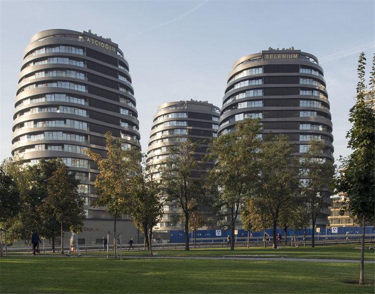 土耳其椭圆形式下的住宅群