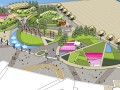 概念公园sketchup模型公园景观SU草图大师