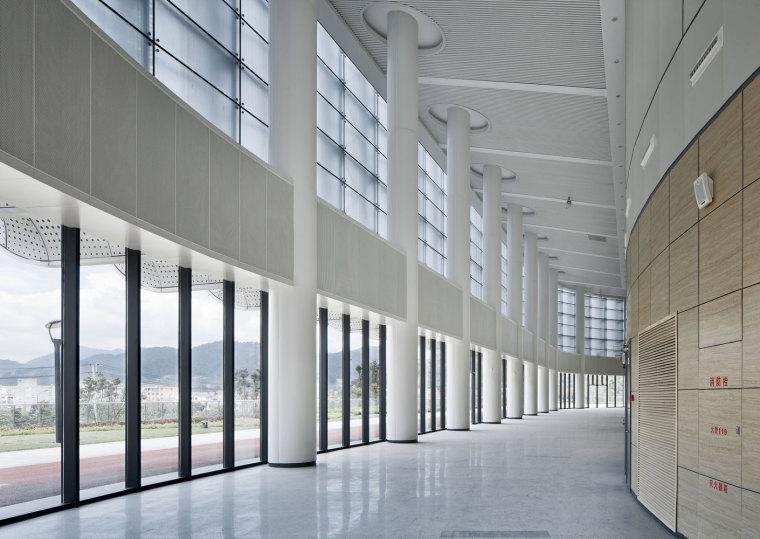 临安半透明轻盈的体育文化会展中心内部实景图 (18)