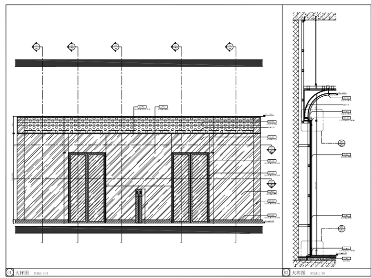 [福州]三层现代风格中心商场施工图(含效果图+SU模型)_4