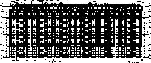 [安徽]2016年某带商业居住区规划设计(含全专业施工图)