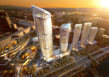 [深圳]超高层商业性办公建筑建筑设计方案文本(含CAD图纸)