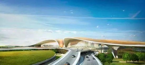 """中国最""""魔幻""""的北京大兴国际机场试飞了!黑科技满满…_36"""