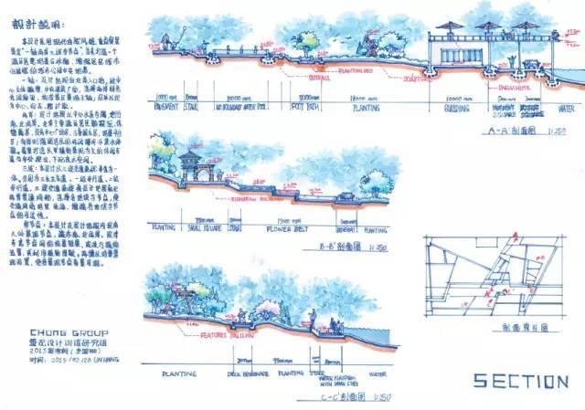 [考研干货]70张景观手绘快题学习_43