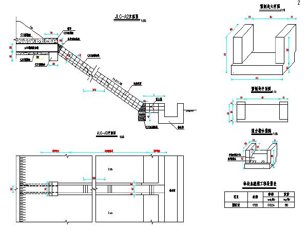 路基路面排水设计图(19张CAD图纸)