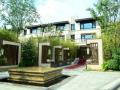 [北京]国际顶级豪宅新中式生态别墅院落景观全套施工图(附实景图)