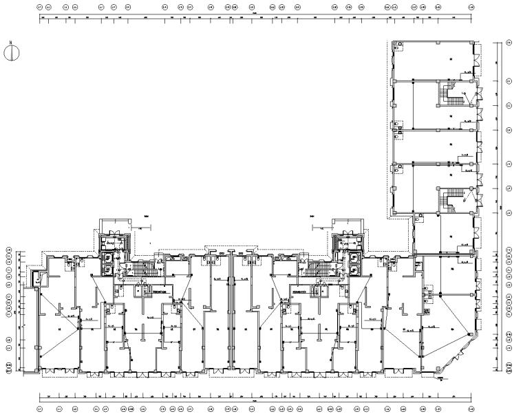 西安大型商品住宅小区项目电气施工图