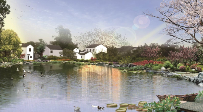 [浙江]江南水乡生态农村景观整治设计方案(附高清汇报视频)
