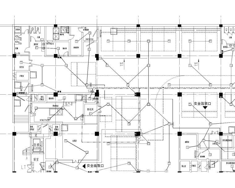 [浙江]14万平三级甲等综合医院电气施工图270张_6
