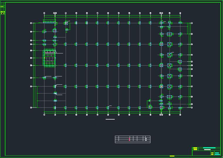 带吊车钢结构厂房施工图