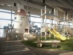 儿童游乐区3D模型下载