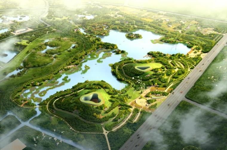 [北林地景]三海子郊野公园(一期)设计方案PDF(97页)