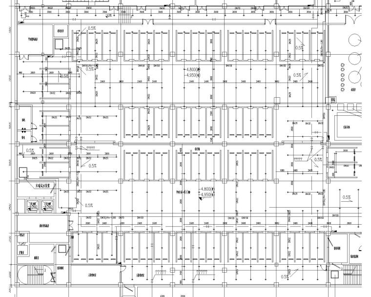 [上海]业务处理三号楼及后勤服务中心消防系统施工图