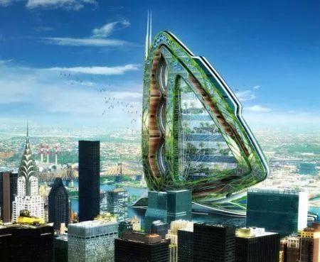 [建筑欣赏]由未来概念建筑一窥未来城市风貌