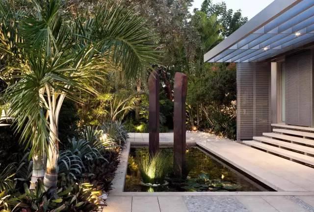 赶紧收藏!21个最美现代风格庭院设计案例_106