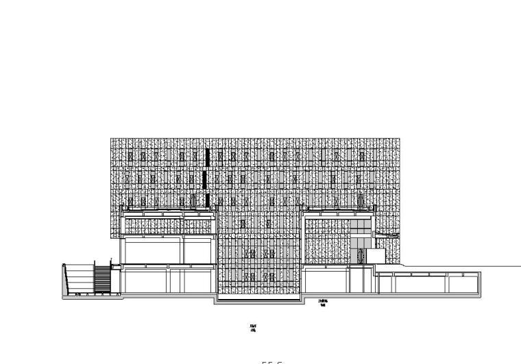 [上海]城投自用办公楼建筑施工图设计(CAD)