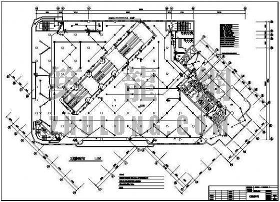 商储大厦消防改造工程电气施工图