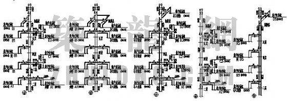 欧陆商城E型住宅采暖设计图