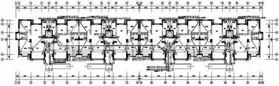 十一层四单元小区住宅楼电气施工图纸