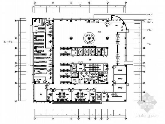 [重庆]某人民医院室内装修施工图