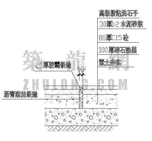 伸缩缝大样图(1)