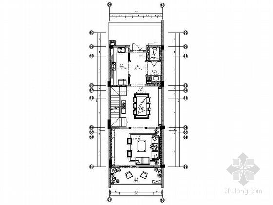 [四川]新中式三层联排别墅室内装修图(含效果)