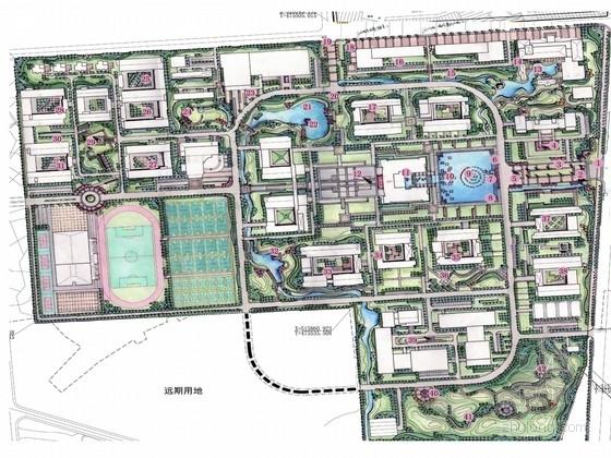 [江苏]高等职业技术学校新校区景观设计方案