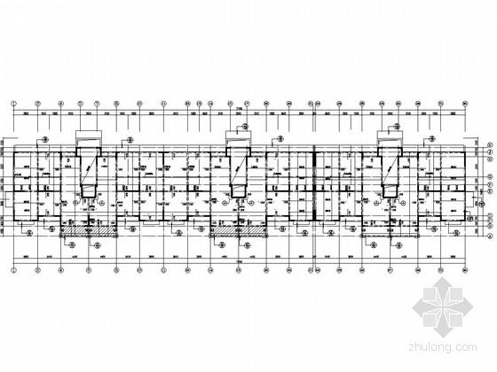 [江苏]八层剪力墙结构住宅楼施工图(含阁楼及PKPM计算图)