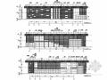 [南京]科技基地框架结构圆形展厅结构图(含建筑图)