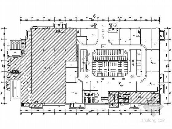 [北京]都市型百货折扣时尚现代连锁店室内装修施工图(含效果)