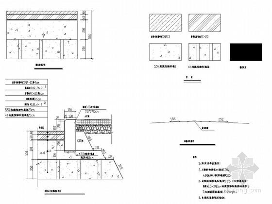 [重庆]城市支路道路工程施工图设计51张(SMA路面)