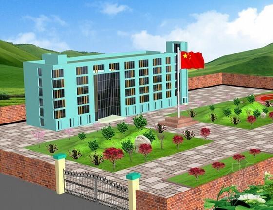 [湖南]2015年小学校建设工程施工招标文件(建安造价约3500万元  122页)