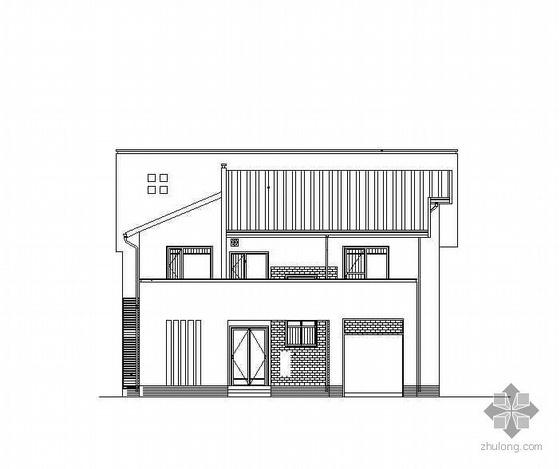 [江苏]某二层砖混小别墅建筑施工图