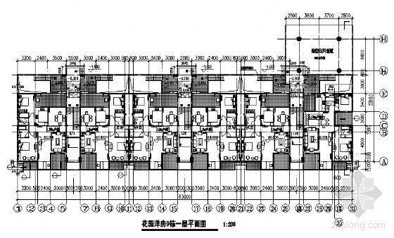 东部花园洋房9栋住宅楼建筑施工图-2
