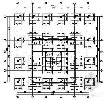 16层机械式立体停车库详图