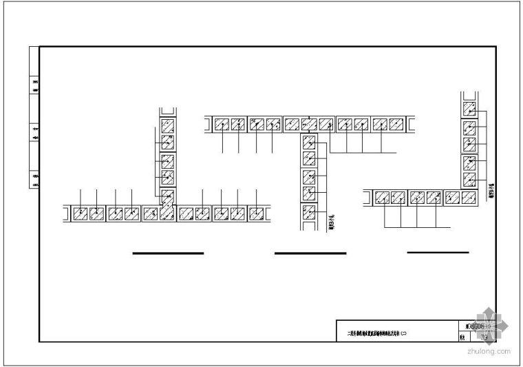 [川]08G08某二层外推纵墙位置底层墙体构造柱及芯柱节点构造详图(二)