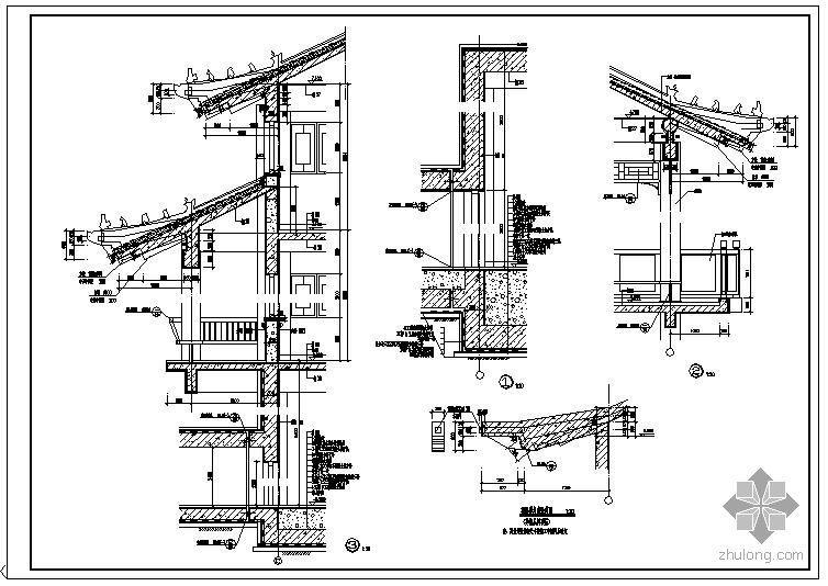 某古建筑节点构造详图