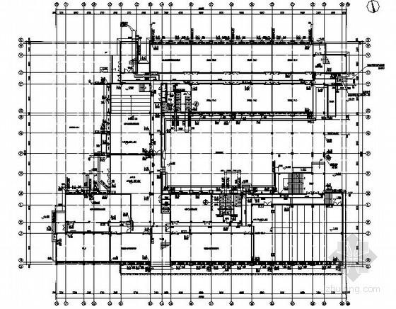 [重庆]某大学特教中心给排水设计施工图纸