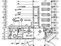 消防站办公大楼室内装饰施工图(装饰.水.电)