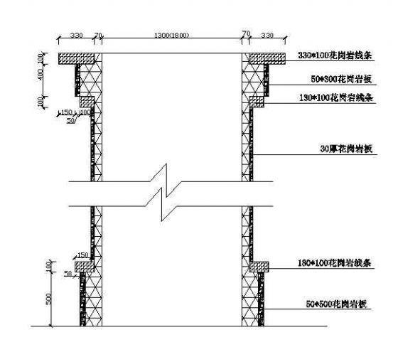 某公园大门施工图-3
