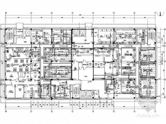 [南京]科研大楼净化空调系统全套施工图纸