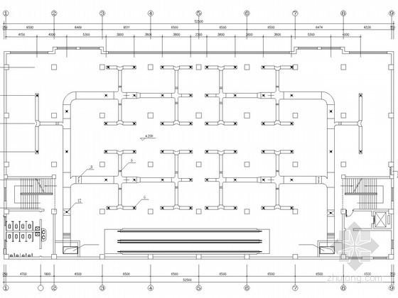四层小型商场空调系统设计施工图(水冷活塞式冷水机组)