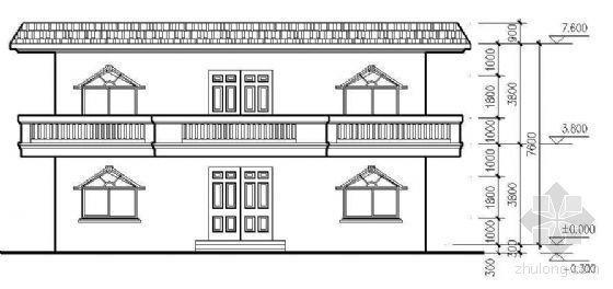 普通民用住宅结构施工图纸