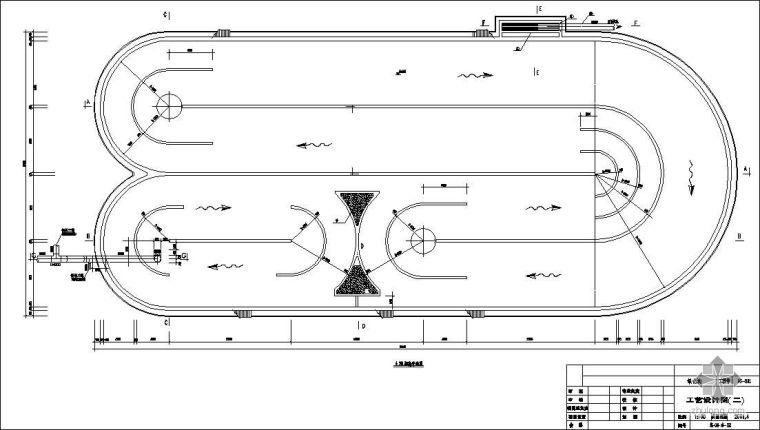 卡鲁塞尔氧化沟工艺设计图